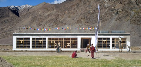 Global Compact, School in Sani Himalaya